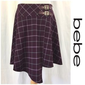 Bebe Asymmetrical Skirt
